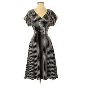 Roz&Ali striped dress